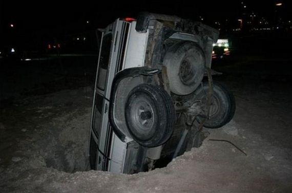 İnanılmaz araba kazaları 09