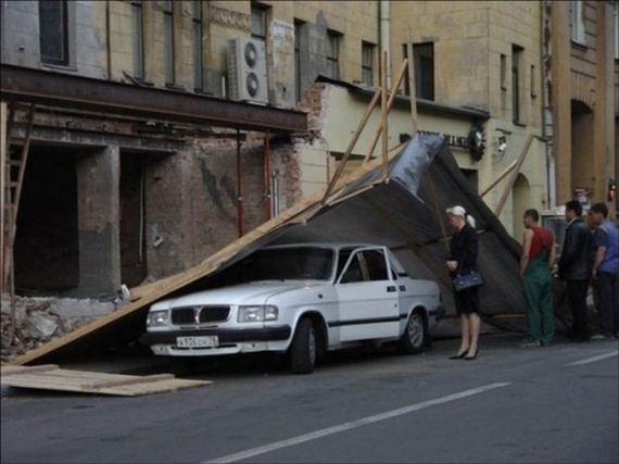 İnanılmaz araba kazaları 10
