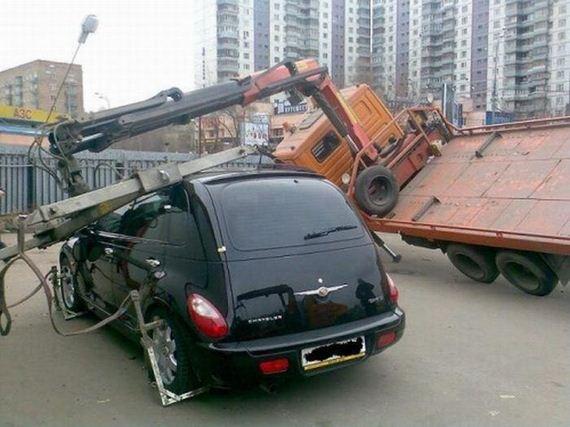 İnanılmaz araba kazaları 16