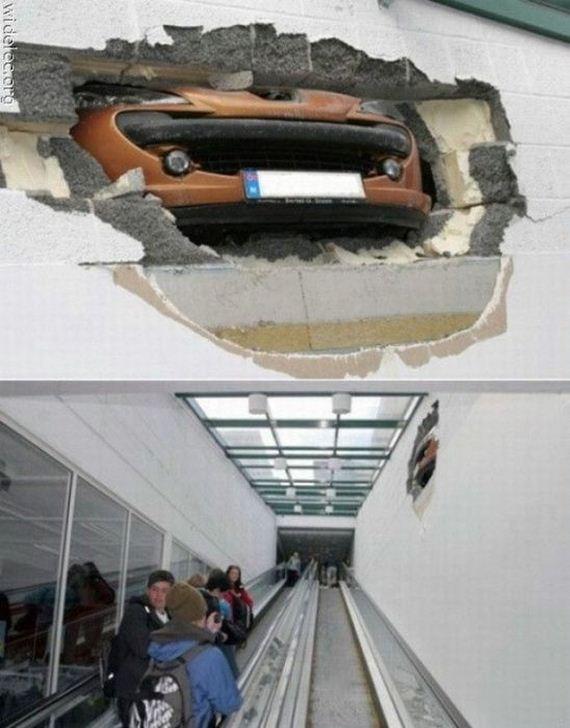 İnanılmaz araba kazaları