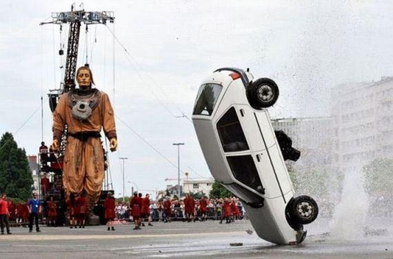 İnanılmaz araba kazaları 27