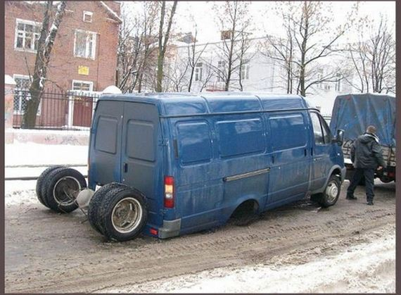 İnanılmaz araba kazaları 34