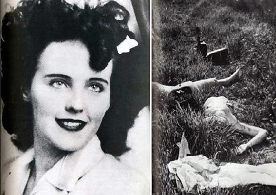 """Hunharca Öldürülen """"Black Dahlia""""nın Tüyler Ürperten Hikayesi +18"""