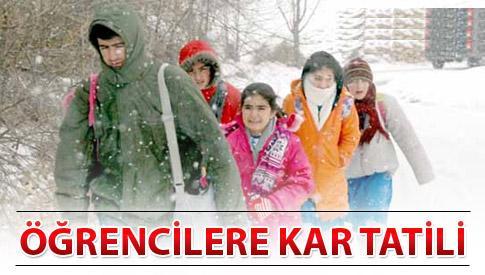 5-ocak-2016-kar-tatili-olan-yerler
