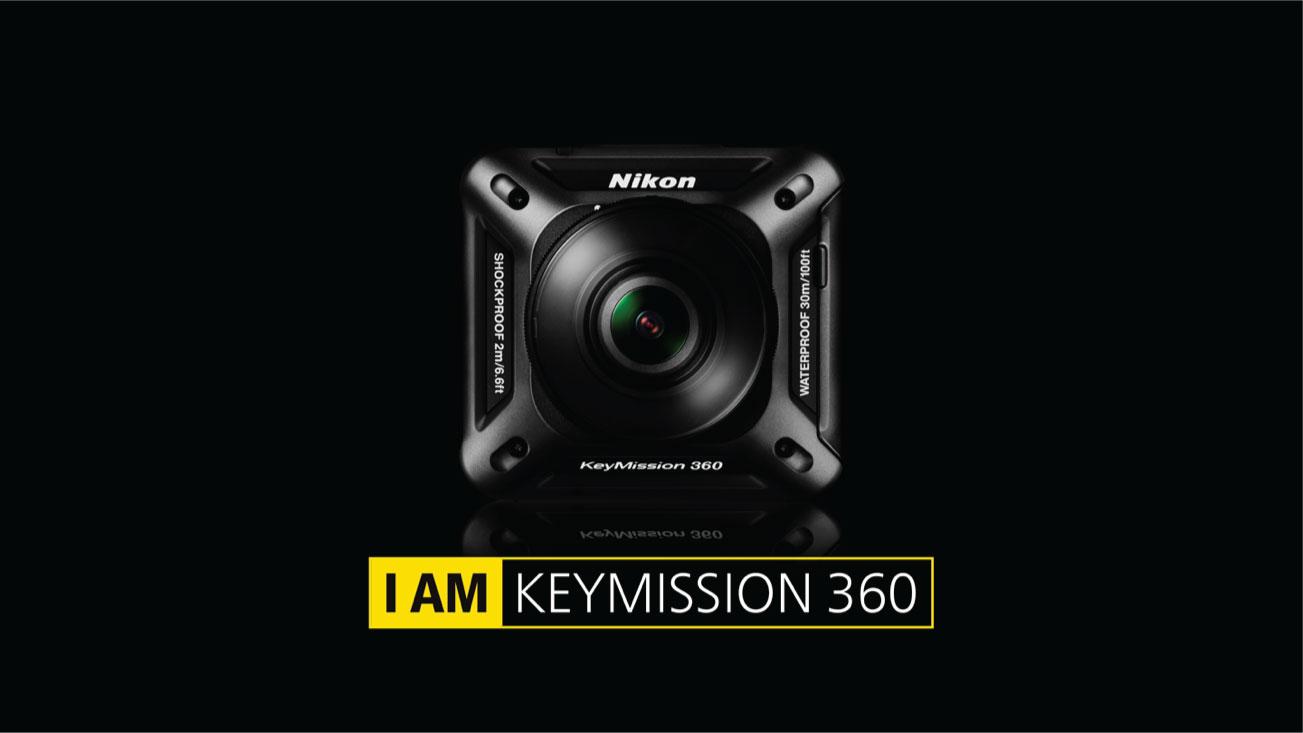 Nikon, aksiyon kamerası KeyMission 360'ı duyurdu