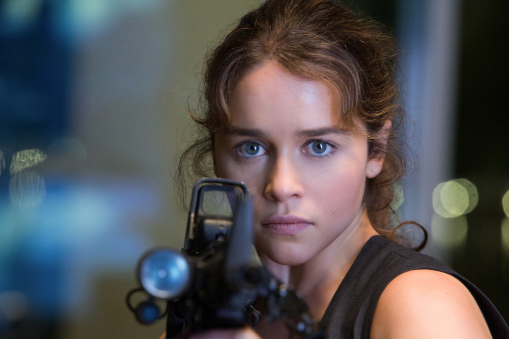 Emilia Clarke plays Sarah Connor in TERMINATOR GENISYS from Paramount Pictures and Skydance Productions Credit: Melinda Sue Gordon, Paramount Pictures [Via MerlinFTP Drop]