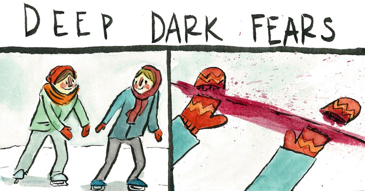 Hepimizin Derinliklerinde Yatan Korkularla Yüzleştiren Çizimler