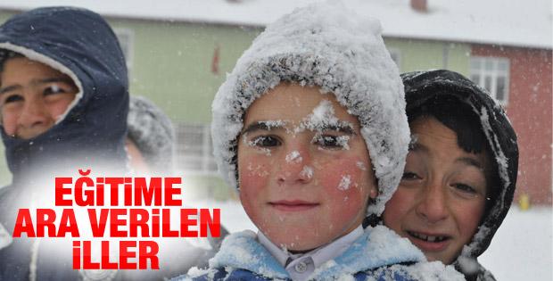 Hangi İllerde ve İlçelerde Kar Tatili Var ?