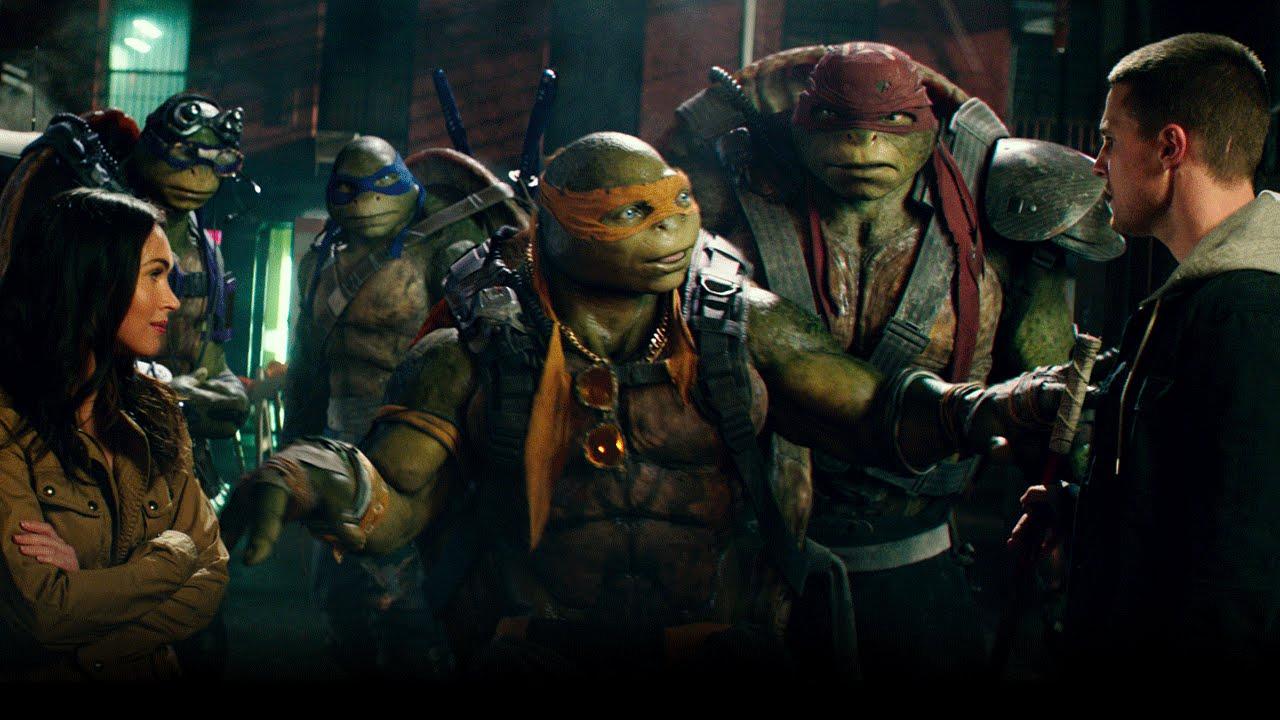 Teenage Mutant Ninja Turtles Filminin Yeni Fragmanı Yayınlandı